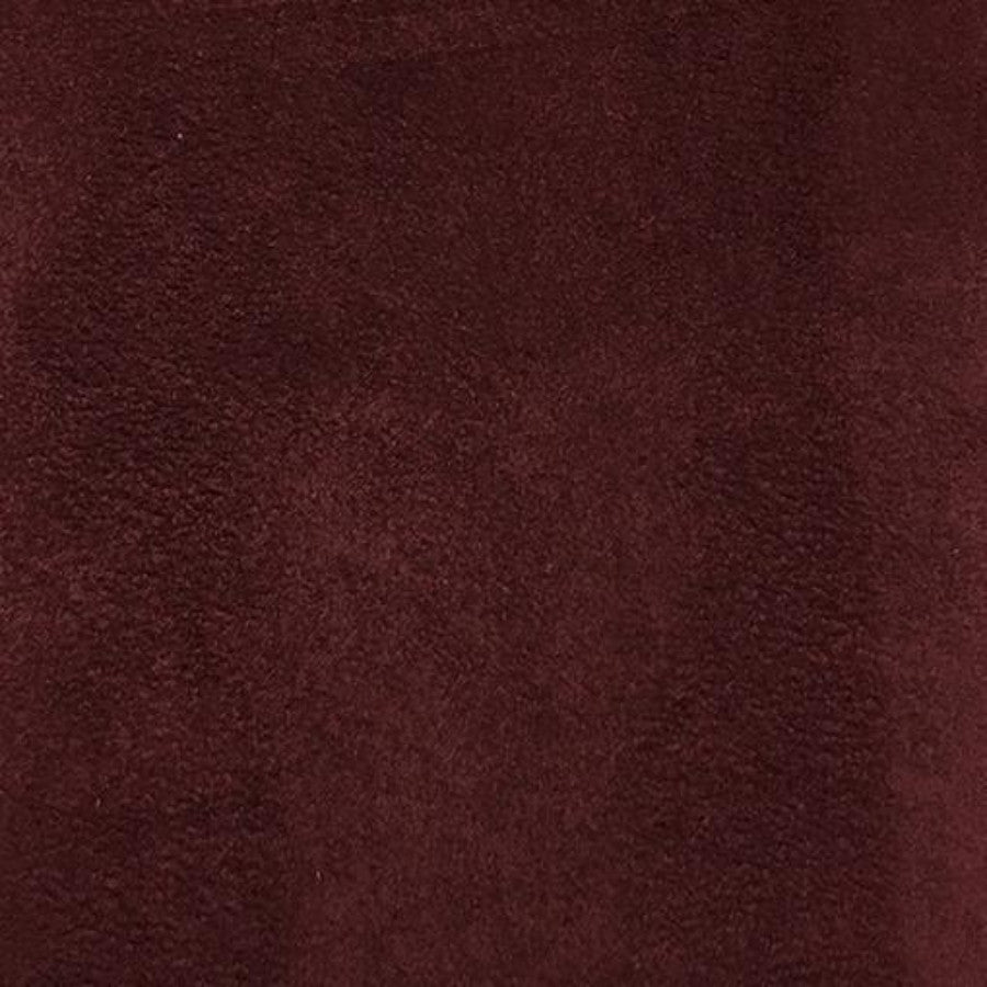 Heavy Suede - Microsuede Fabric by the Yard - Available in 69 Colors - Wine - Top Fabric - 23