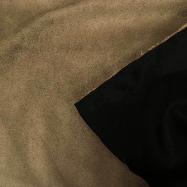 Heavy Suede - Microsuede Fabric by the Yard with Backing - 3 Colors