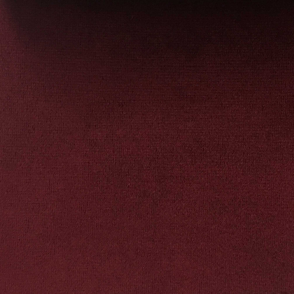 Highbury - Solid Plush Microvelvet Fabric Upholstery Velvet Fabric by the Yard - Available in 47 Colors - Berry - Top Fabric - 12