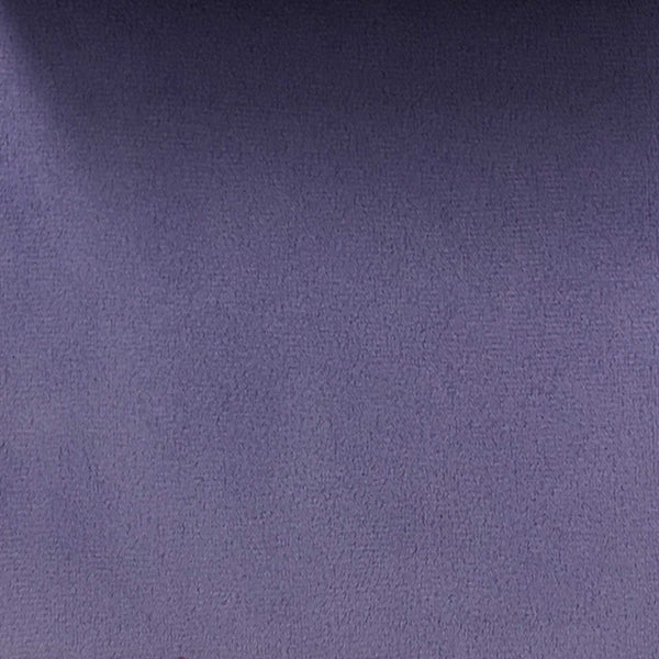 Highbury - Solid Plush Microvelvet Fabric Upholstery Velvet Fabric by the Yard - Available in 47 Colors - Bright Purple - Top Fabric - 10
