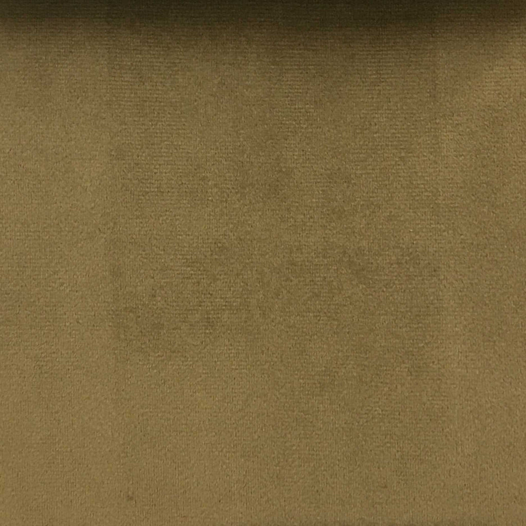 Highbury - Solid Plush Microvelvet Fabric Upholstery Velvet Fabric by the Yard - Available in 47 Colors - Brown Sugar - Top Fabric - 41