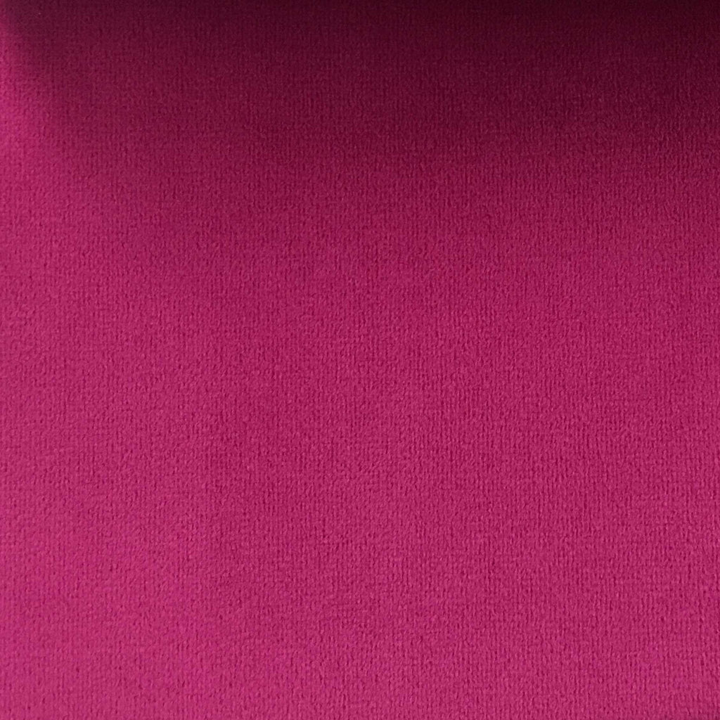 Islington - Plush Microvelvet Multi-Purpose Velvet Fabric by the Yard - Available in 33 Colors - Hot Pink - Top Fabric - 30
