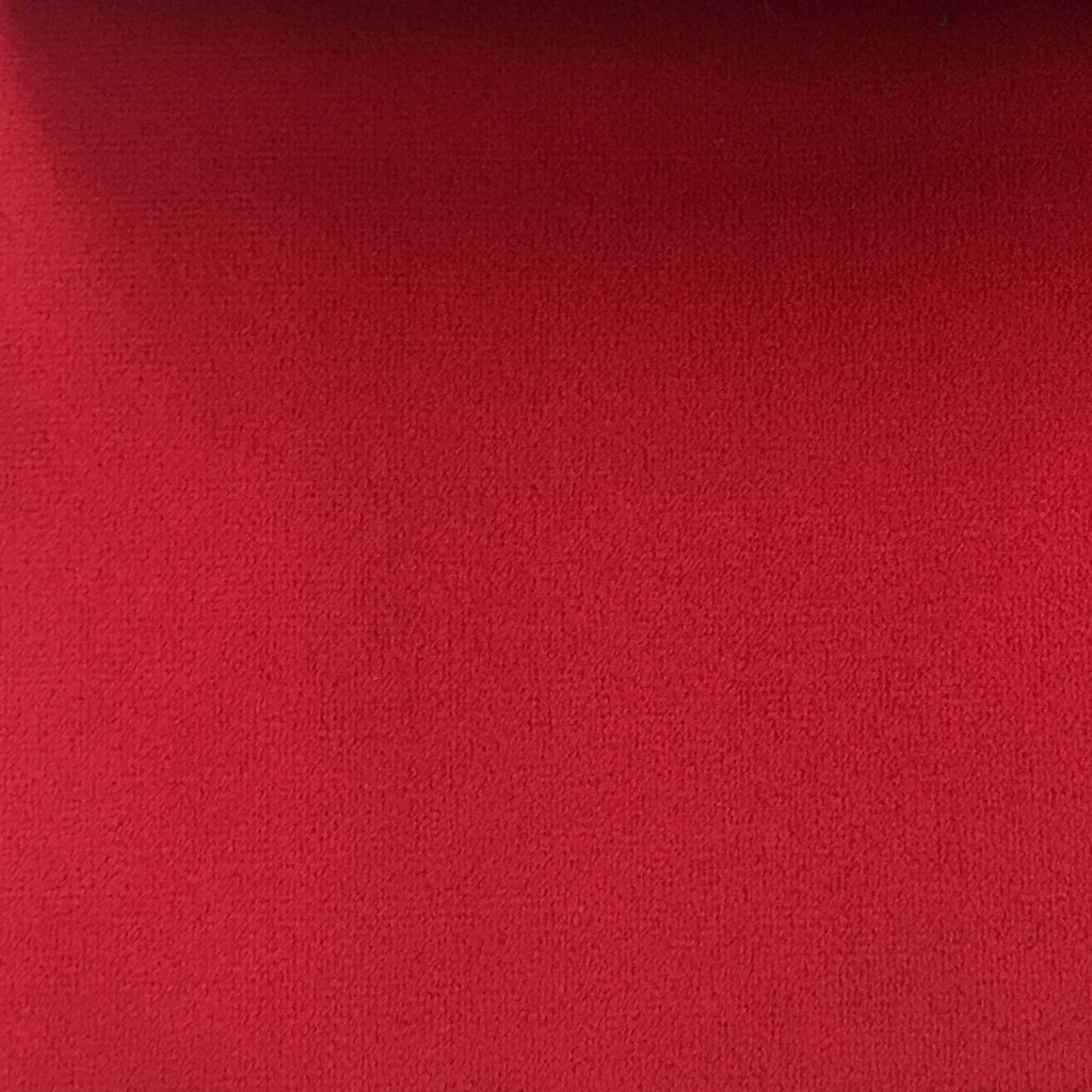 Highbury - Solid Plush Microvelvet Fabric Upholstery Velvet Fabric by the Yard - Available in 47 Colors - Lipstick - Top Fabric - 16