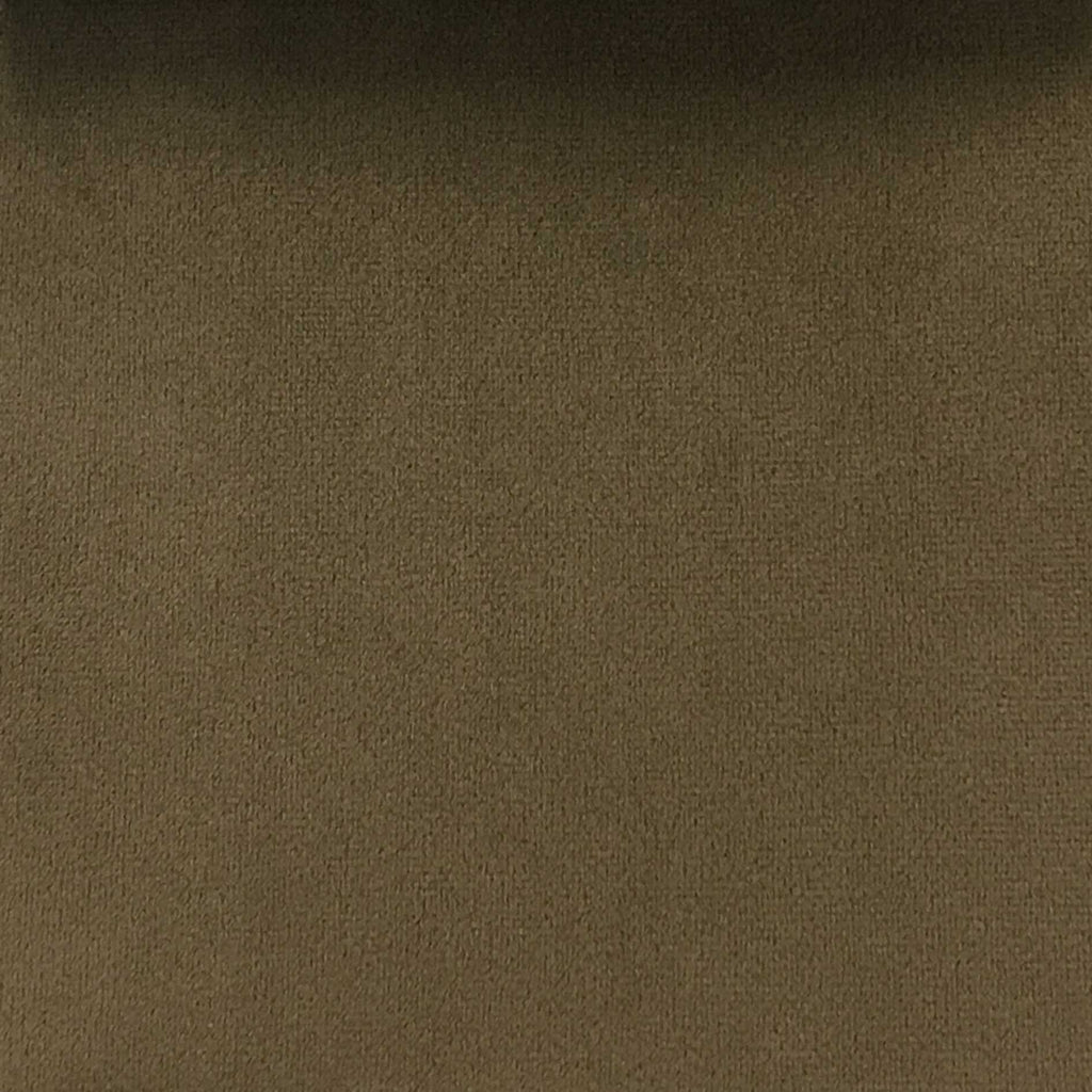 Islington - Plush Microvelvet Multi-Purpose Velvet Fabric by the Yard - Available in 33 Colors - Mocha - Top Fabric - 23