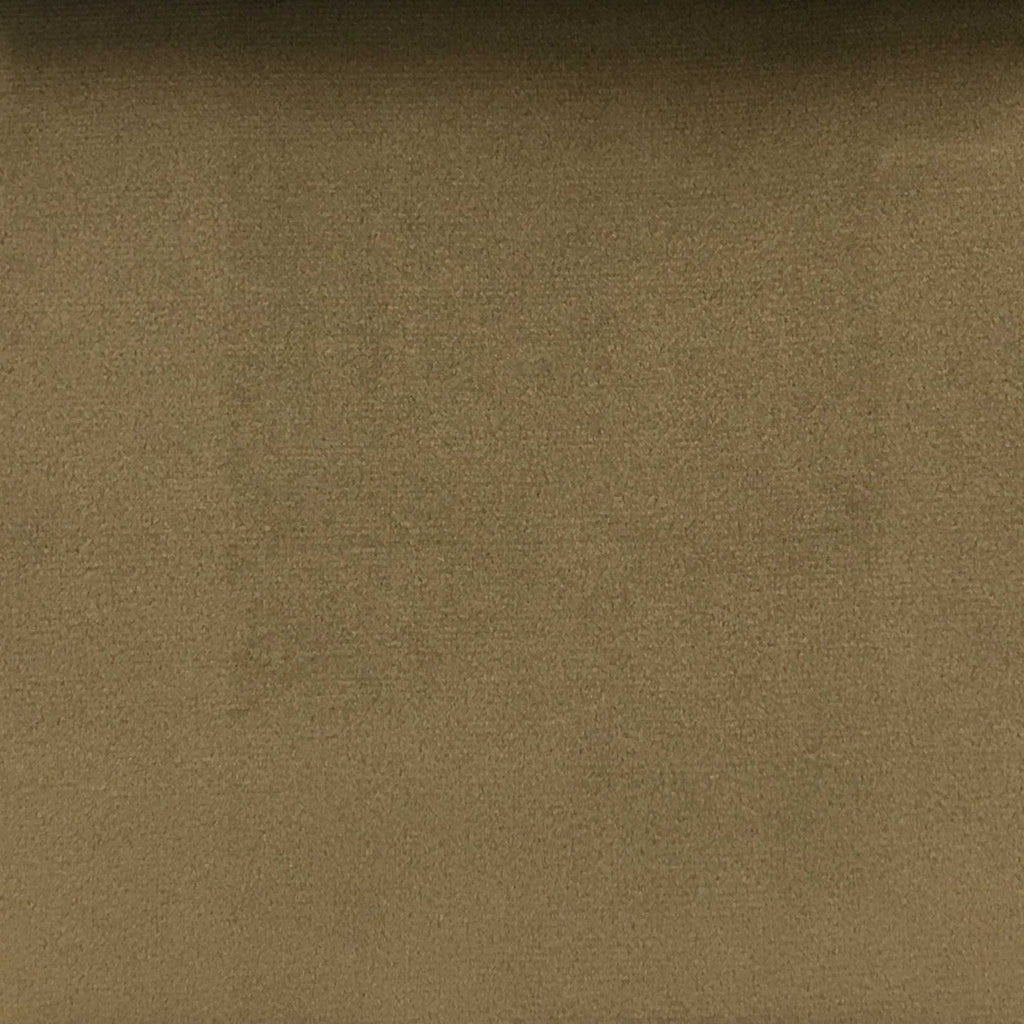 Islington - Plush Microvelvet Multi-Purpose Velvet Fabric by the Yard - Available in 33 Colors - Pecan - Top Fabric - 22
