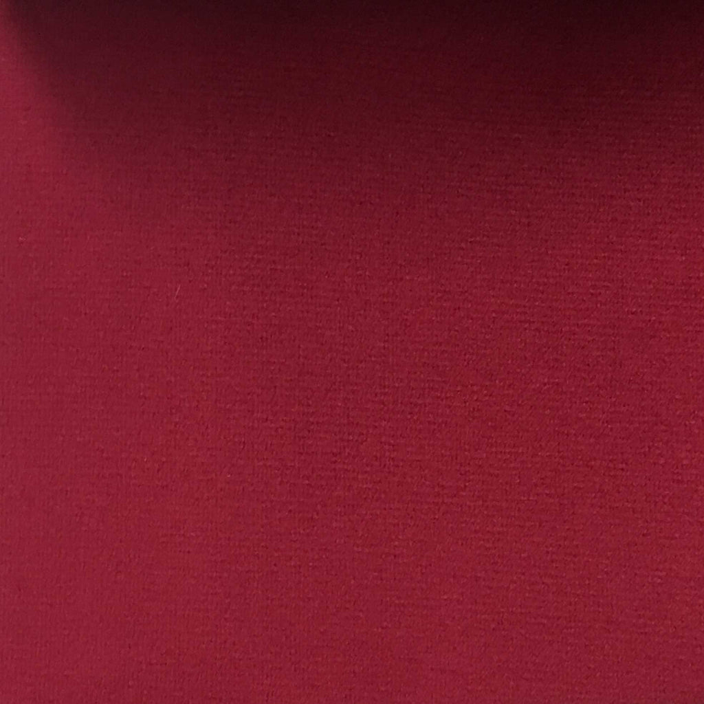 Highbury - Solid Plush Microvelvet Fabric Upholstery Velvet Fabric by the Yard - Available in 47 Colors - Raspberry - Top Fabric - 14