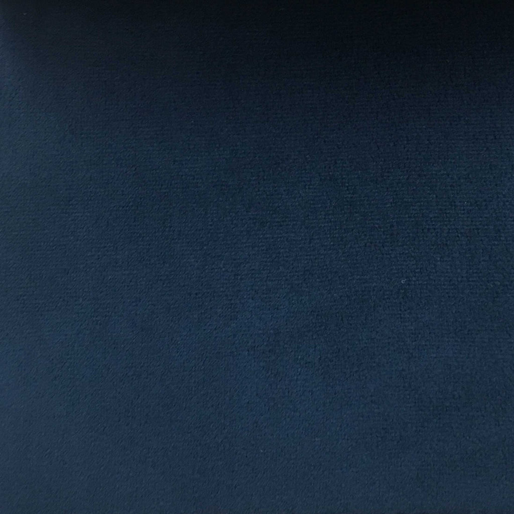 Highbury - Solid Plush Microvelvet Fabric Upholstery Velvet Fabric by the Yard - Available in 47 Colors - Royal - Top Fabric - 19