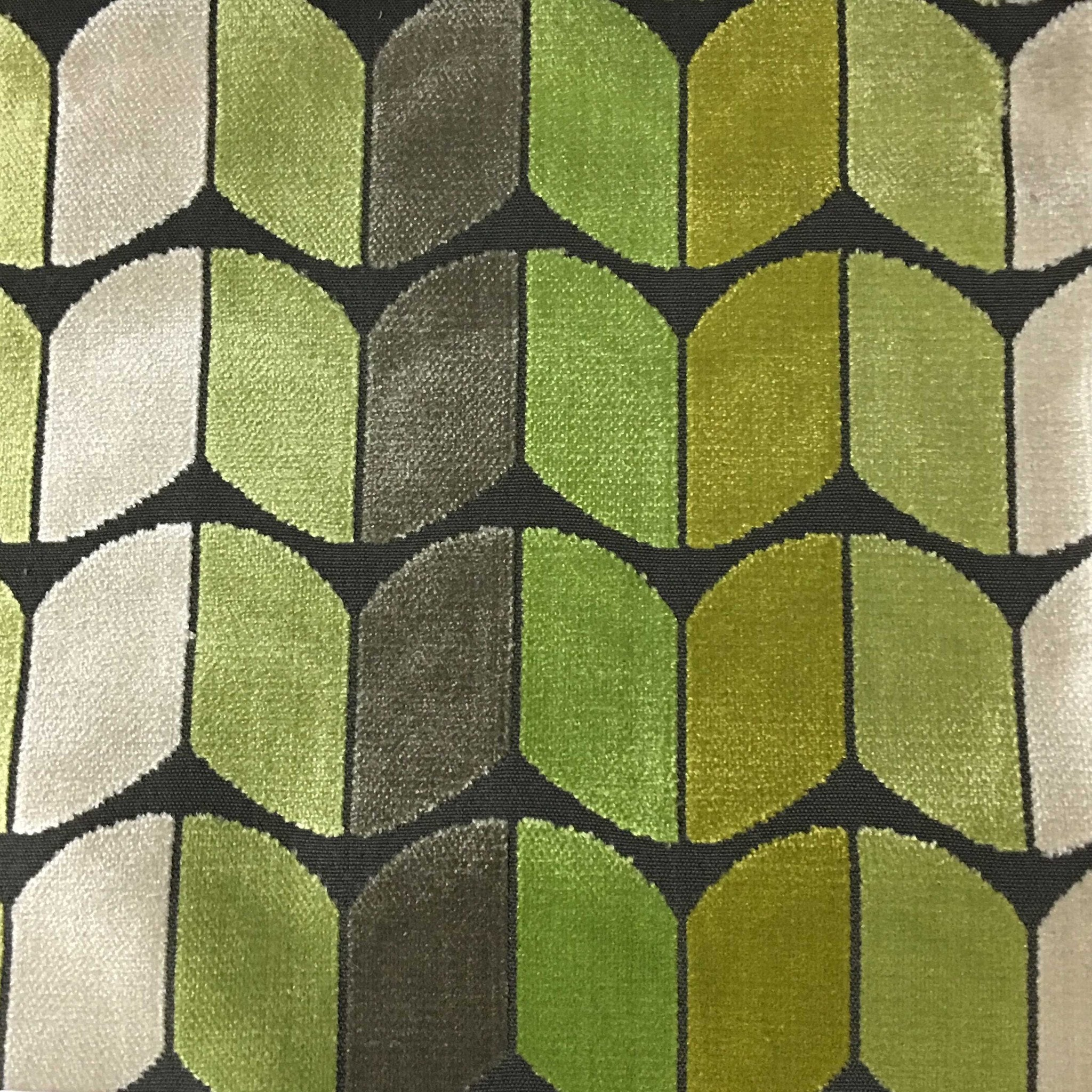 holland arrow cut velvet fabric upholstery fabric by the yard available in 13 colors