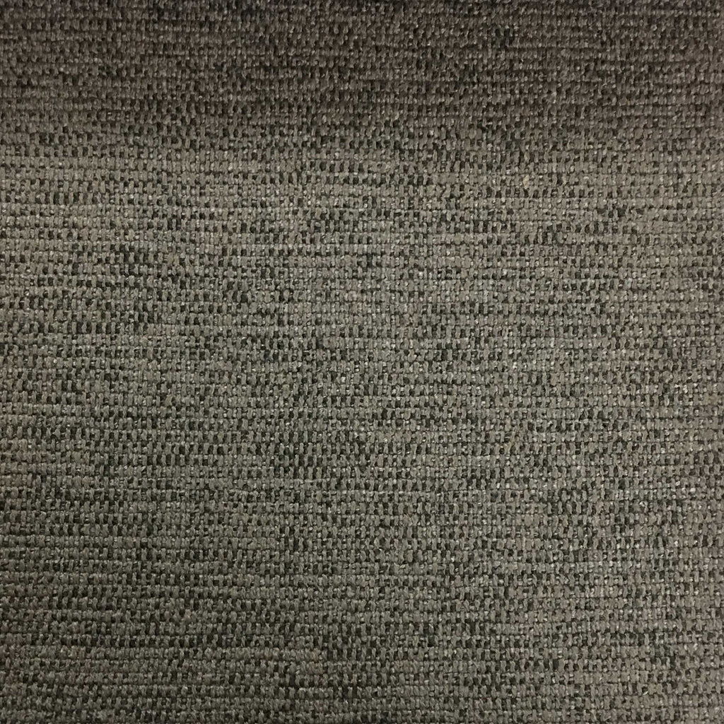Hugh - Solid Woven Linen Upholstery Fabric by the Yard - Available in 22 Colors - Otter - Top Fabric - 10