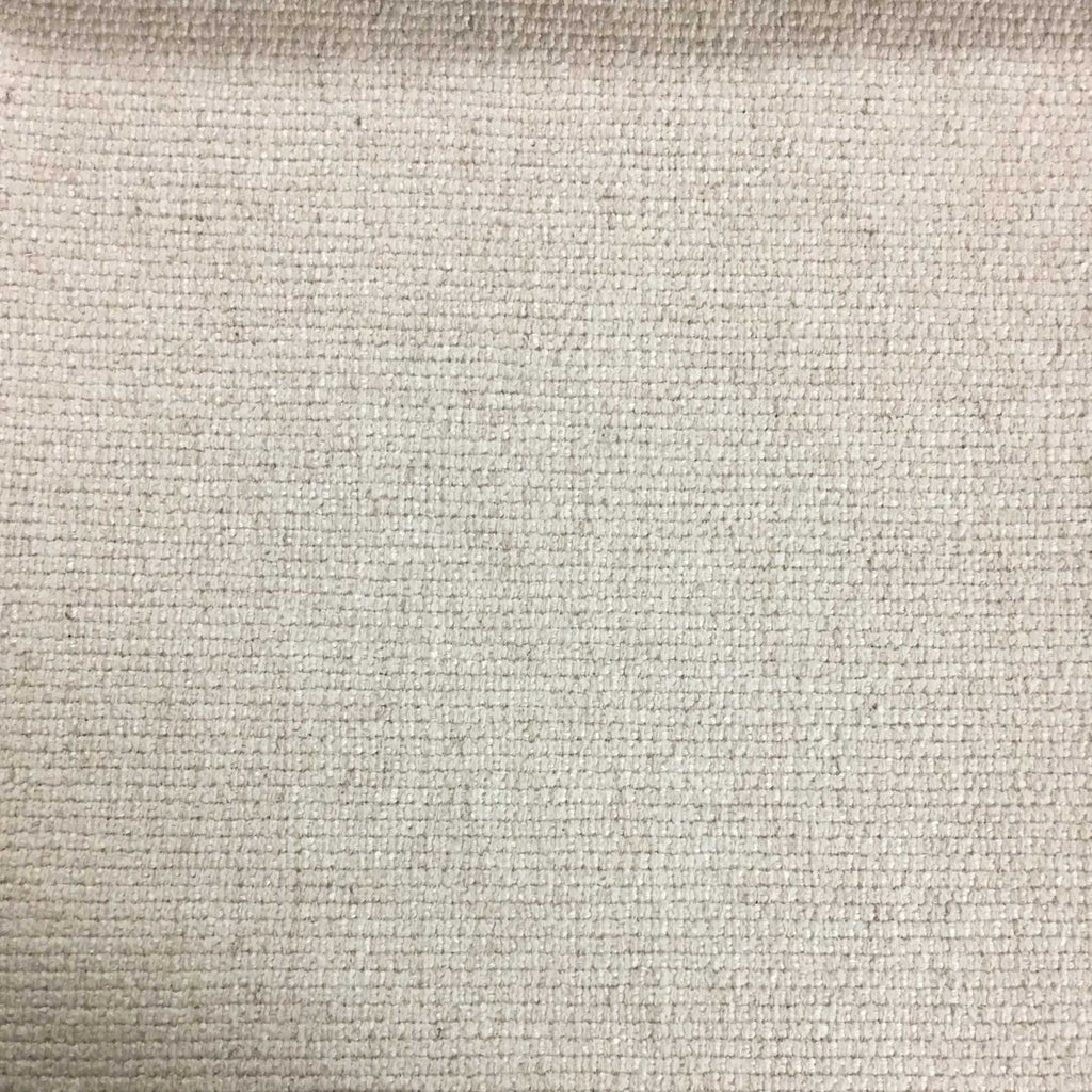 Hugh - Solid Woven Linen Upholstery Fabric by the Yard - Available in 22 Colors - Ricepaper - Top Fabric - 17