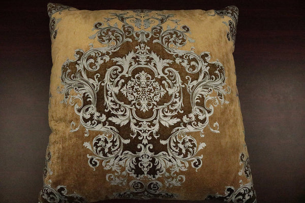 Buckingham Antique Gold Feather Down Pillow