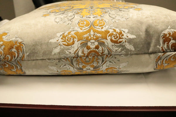 Buckingham -Silver Gold- Feather Down Pillow