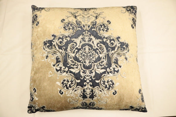Buckingham -Navy- Feather Down Pillow