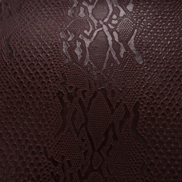 Viper - Chic Snake Skin Vinyl in Matte Colors for Upholstery