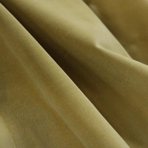 Bowie - 100% Cotton Velvet Upholstery Fabric by the Yard -77 Colors