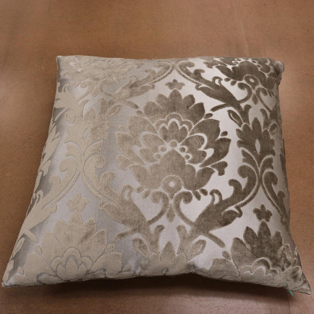 Nottingham Pillow, Luxury Pillow With Radcliffe Burnout Velvet Fabric - 3 Colors