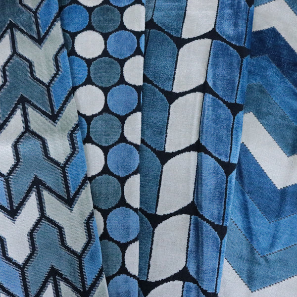 Espresso Brown Teal Fabric By the Yard Luxor Metallic Gold Cotton Fabric t1//19