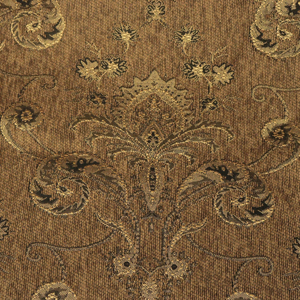 Jalisco - A Traditional Damask Pattern Chenille - Upholstery Fabric