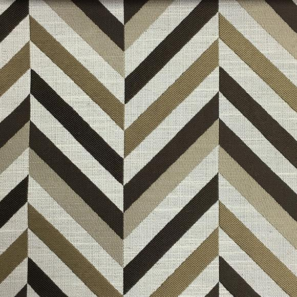 Leyton - Jacquard Fabric Designer Pattern Home Decor Drapery & Pillow Fabric by the Yard - Available in 8 Colors - Bark - Top Fabric - 3