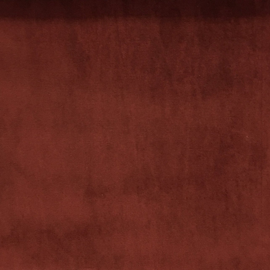 Liberty - Ultra Plush Microvelvet Fabric Upholstery Velvet Fabric by the Yard - Available in 38 Colors - Henna - Top Fabric - 36
