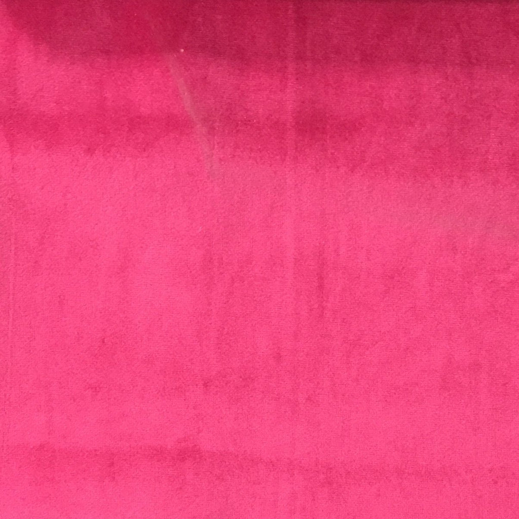 Liberty - Ultra Plush Microvelvet Fabric Upholstery Velvet Fabric by the Yard - Available in 38 Colors - Pitaya - Top Fabric - 30