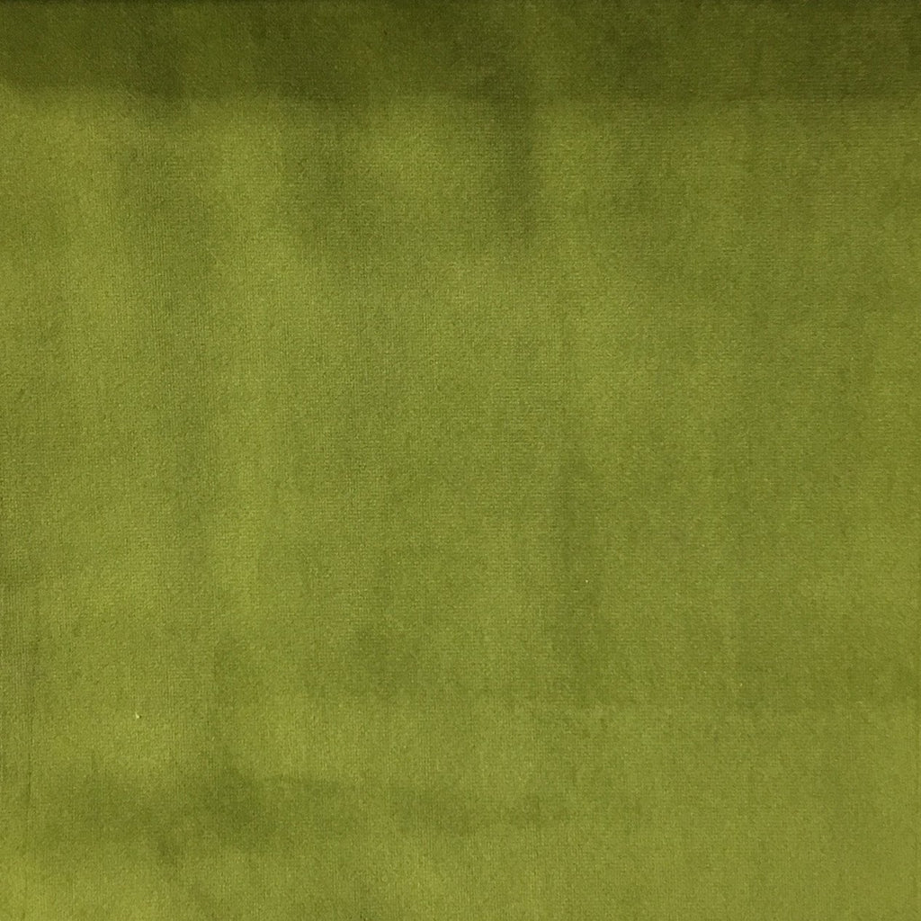 Liberty - Ultra Plush Microvelvet Fabric Upholstery Velvet Fabric by the Yard - Available in 38 Colors - Wasabi - Top Fabric - 7