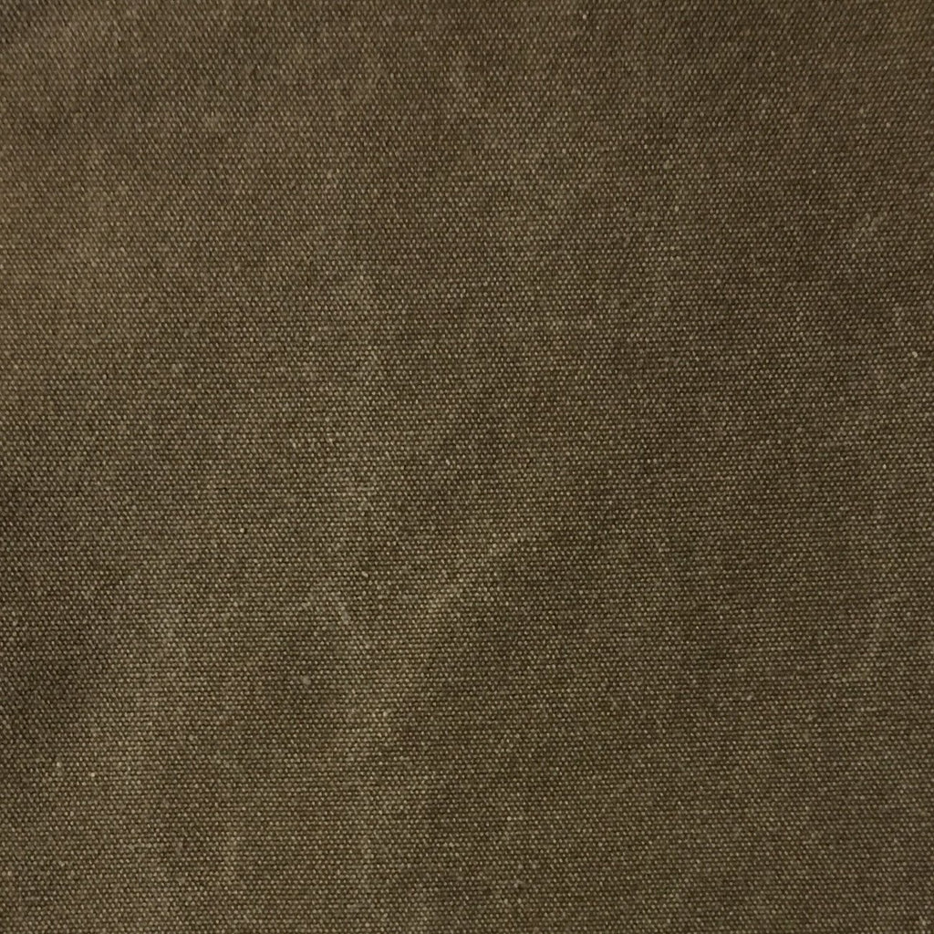 Lido - Cotton Canvas Upholstery Fabric by the Yard - Available in 16 Colors - Bark - Top Fabric - 15