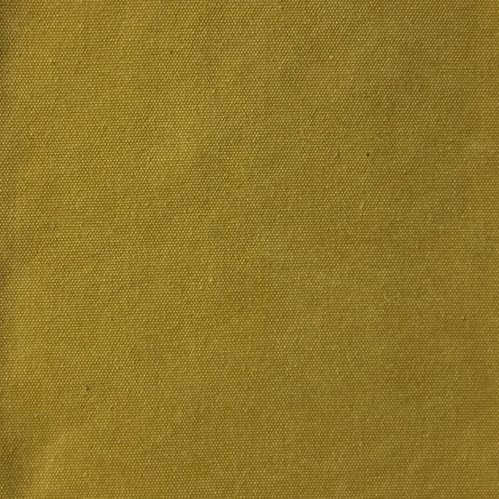 Lido - Cotton Canvas Upholstery Fabric by the Yard - Available in 16 Colors - Curry - Top Fabric - 8