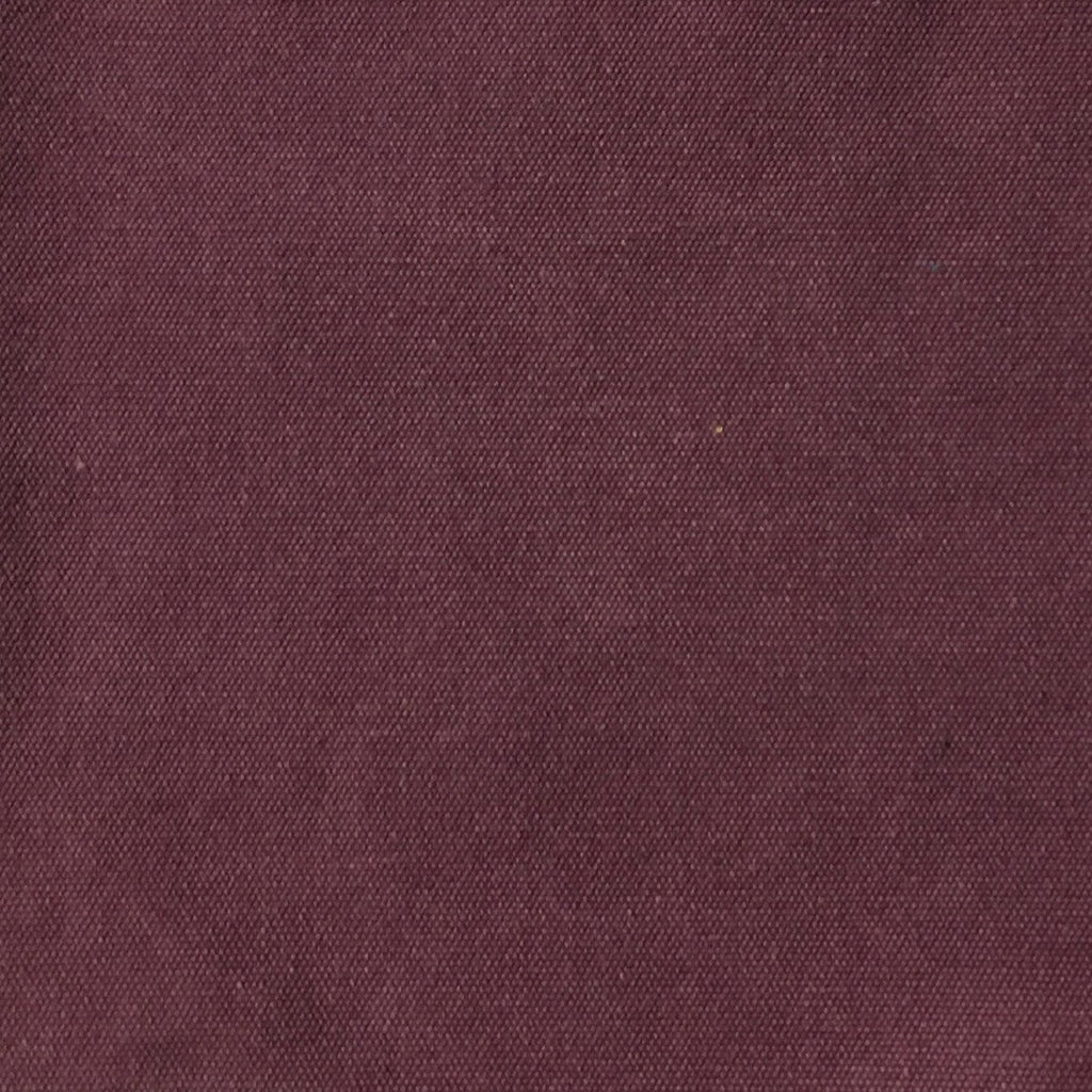 Lido - Cotton Canvas Upholstery Fabric by the Yard - Available in 16 Colors - Fig - Top Fabric - 14