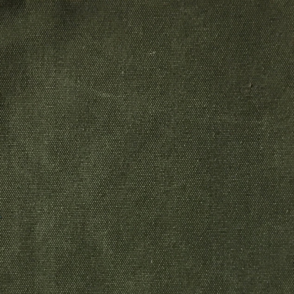 Lido - Cotton Canvas Upholstery Fabric by the Yard - Available in 16 Colors - Kelp - Top Fabric - 11