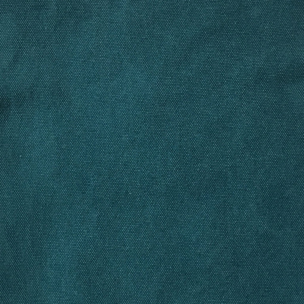 Lido - Cotton Canvas Upholstery Fabric by the Yard - Available in 16 Colors - Laguna - Top Fabric - 13