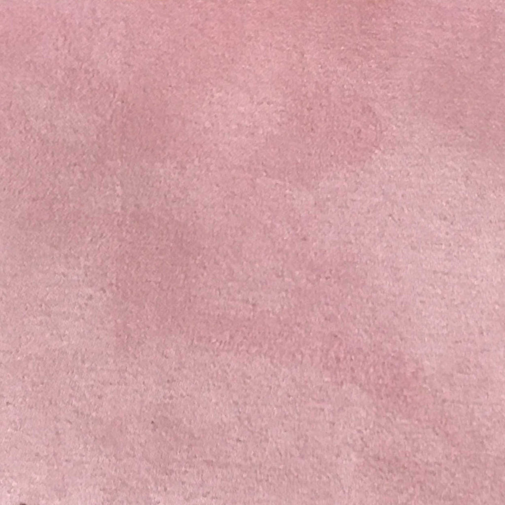 Light Suede - Microsuede Fabric by the Yard - Available in 30 Colors - Pink - Top Fabric - 18
