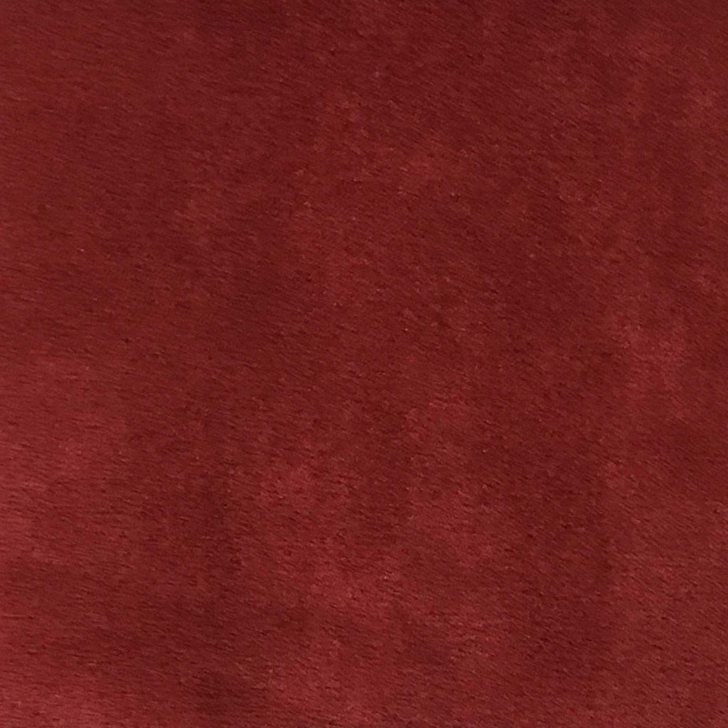 Light Suede - Microsuede Fabric by the Yard - Available in 30 Colors - Red - Top Fabric - 21