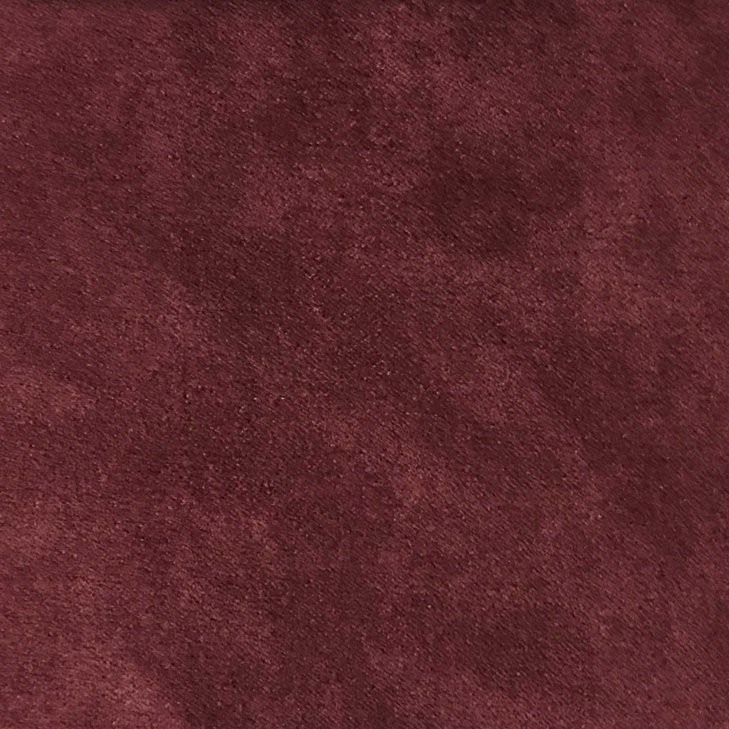 Light Suede - Microsuede Fabric by the Yard - Available in 30 Colors - Wine - Top Fabric - 19