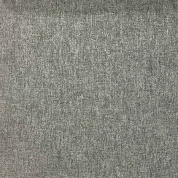 Lora - Brushed Polyester Faux Linen Upholstery Fabric by the Yard - Available in 8 Colors - Charcoal - Top Fabric - 1