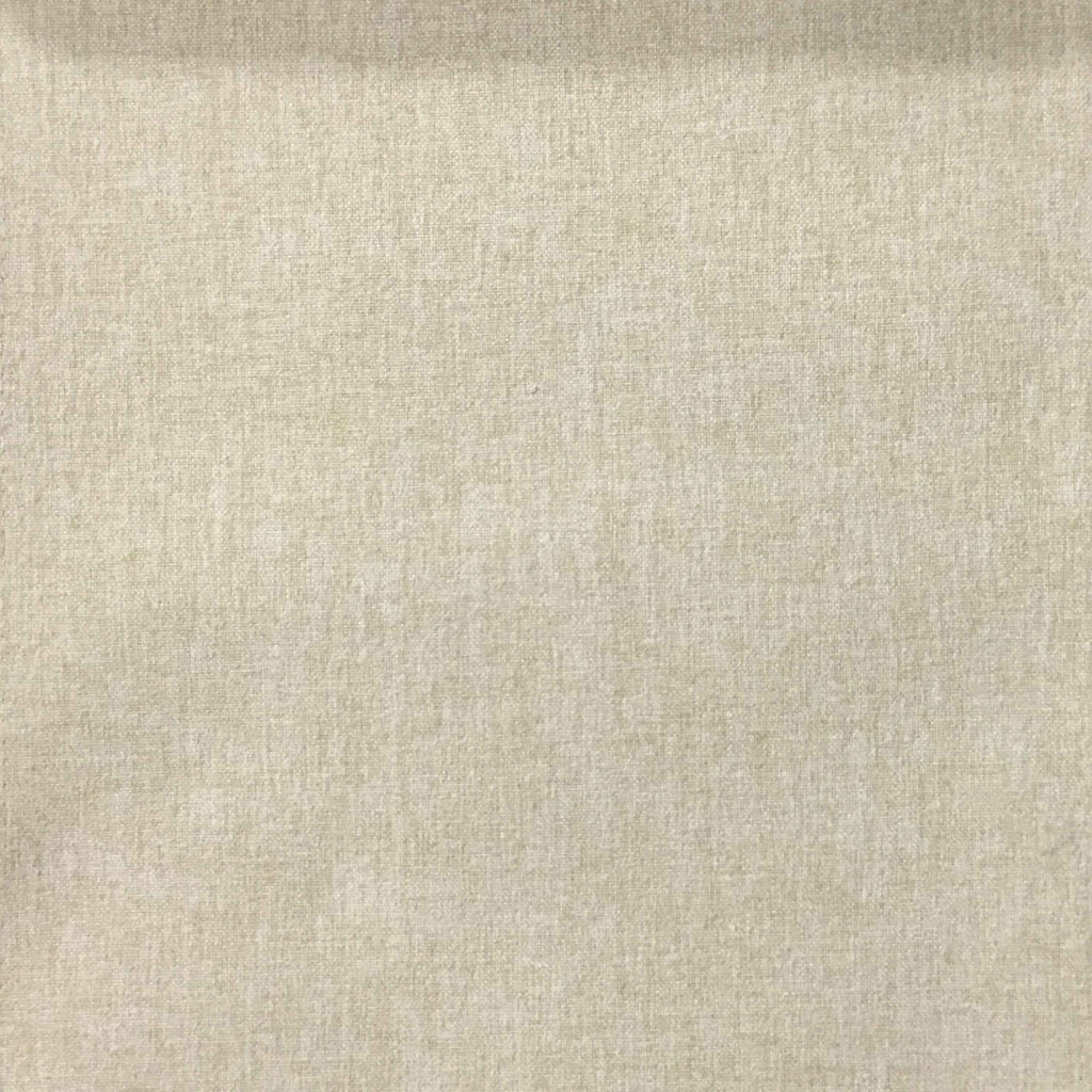 Lora - Brushed Polyester Faux Linen Upholstery Fabric by the Yard - Available in 8 Colors - Rawhide - Top Fabric - 6