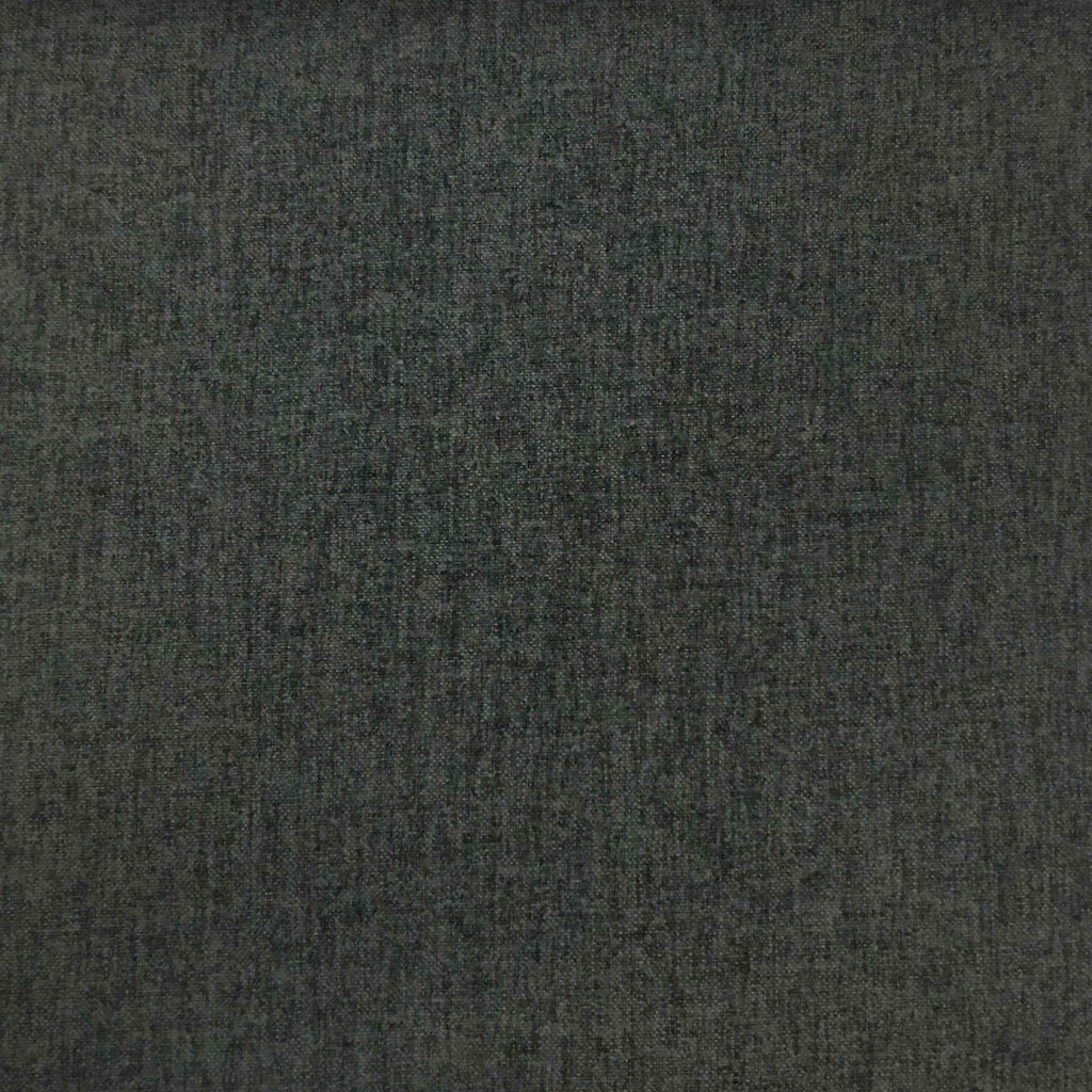 Lora - Brushed Polyester Faux Linen Upholstery Fabric by the Yard - Available in 8 Colors - Zinc - Top Fabric - 5