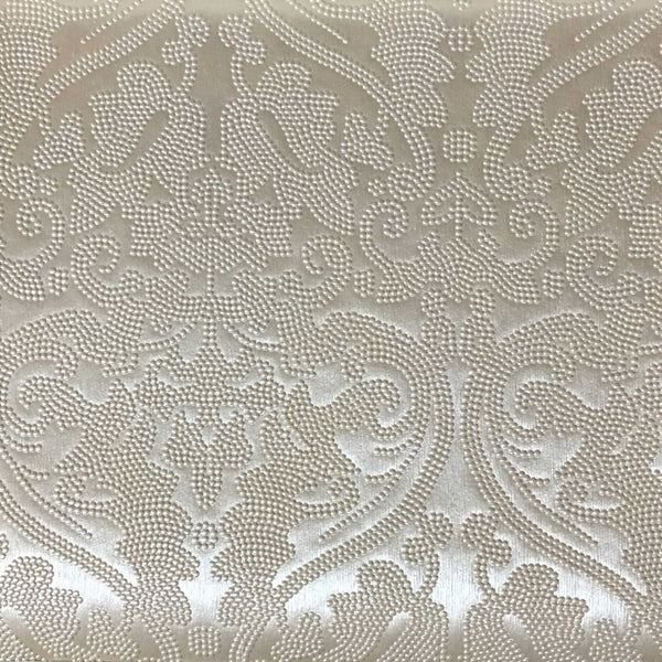 lyon embossed damask pattern vinyl upholstery fabric by the yard. Black Bedroom Furniture Sets. Home Design Ideas