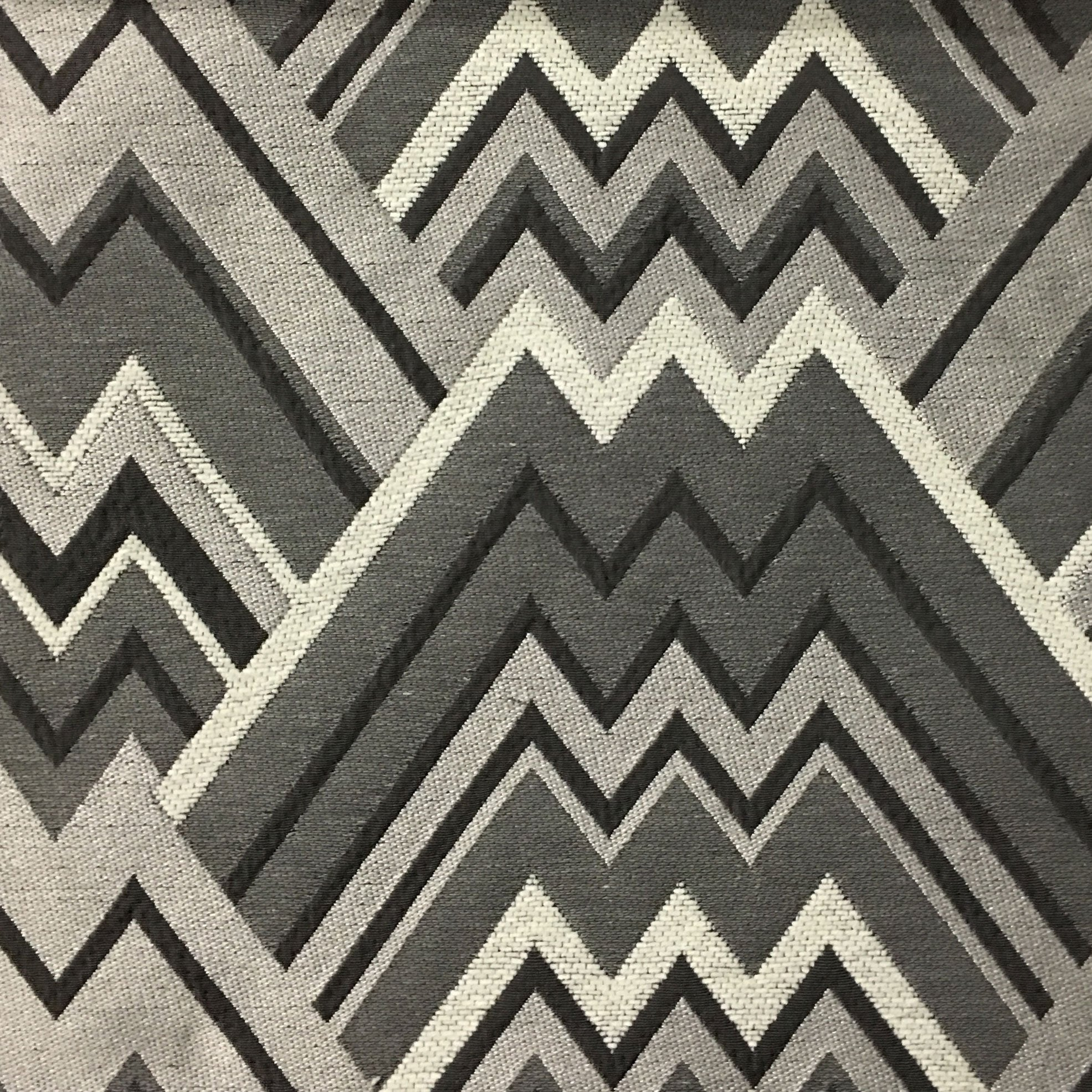 Mesa Mixed Construction Geometric Upholstery Fabric By The Yard