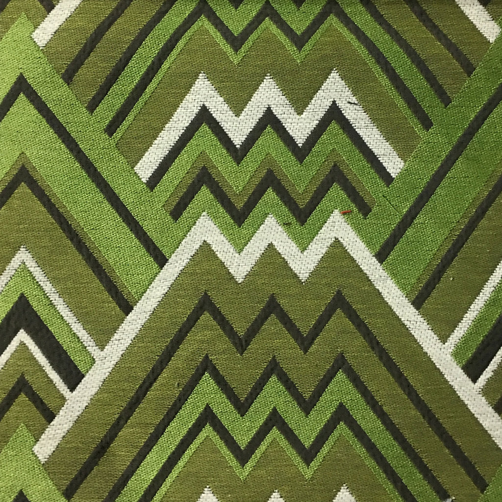 Mesa - Mixed Construction Geometric Pattern Cotton Blend Upholstery Fabric by the Yard - Available in 8 Colors - Wheatgrass - Top Fabric - 2