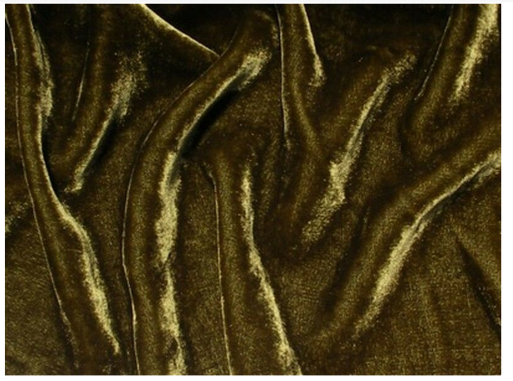 Nadar - Silk Velvet - Silk Pile with Rayon Background-Home Decor Fabric by the Yard