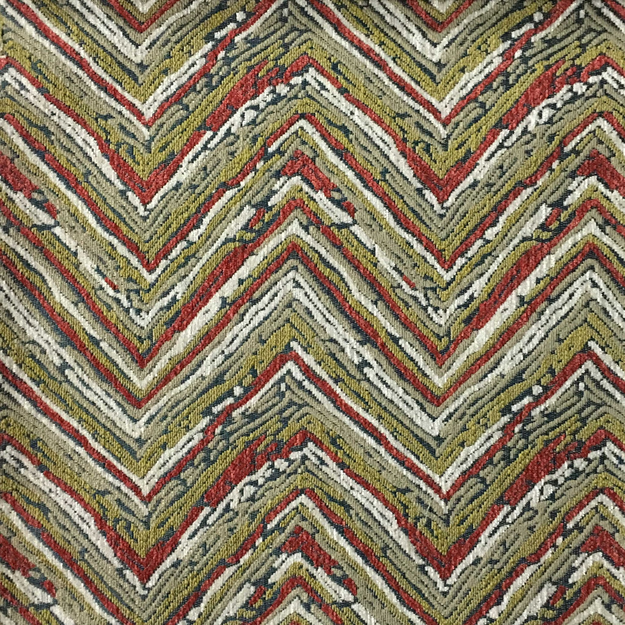 Norwich chevron pattern heavy chenille upholstery fabric for Fabric material for sale
