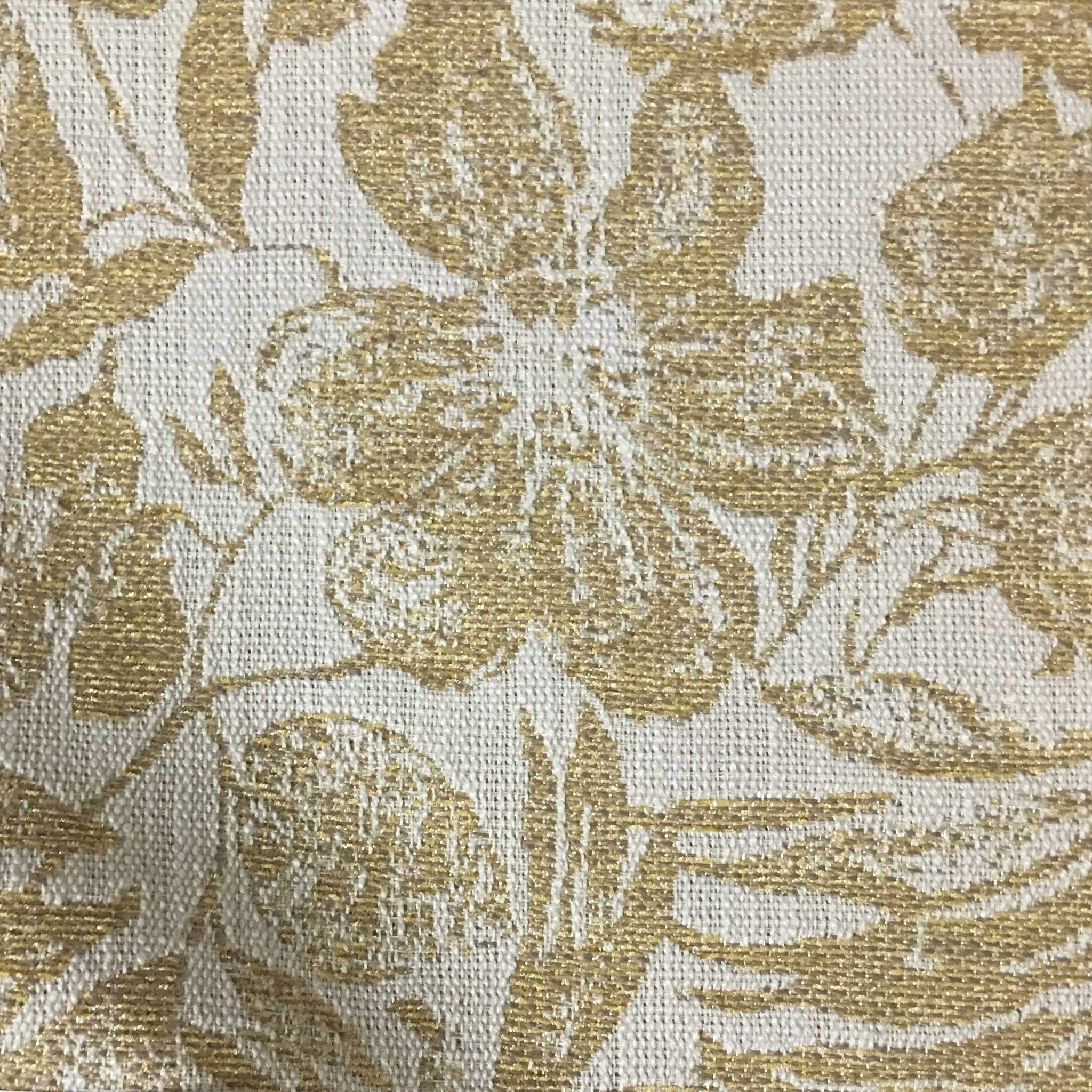 Oaks Tropical Pattern Woven Upholstery Fabric By The Yard 6 Colors