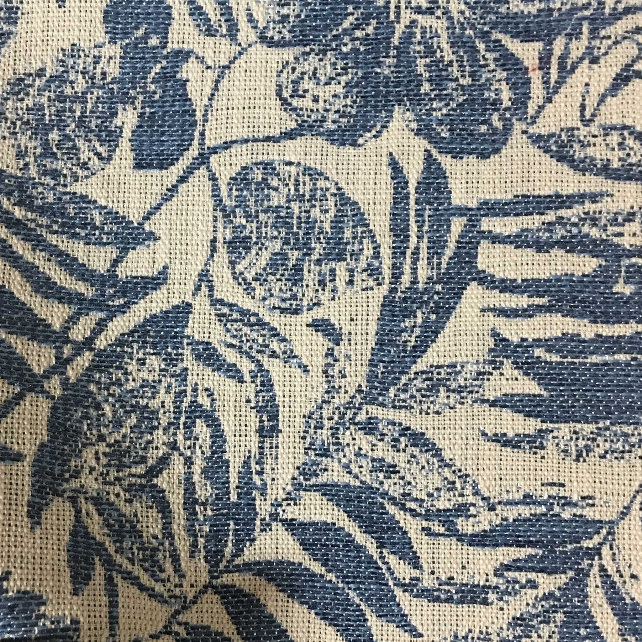 Oaks tropical pattern woven upholstery fabric by the for Children s home decor fabric