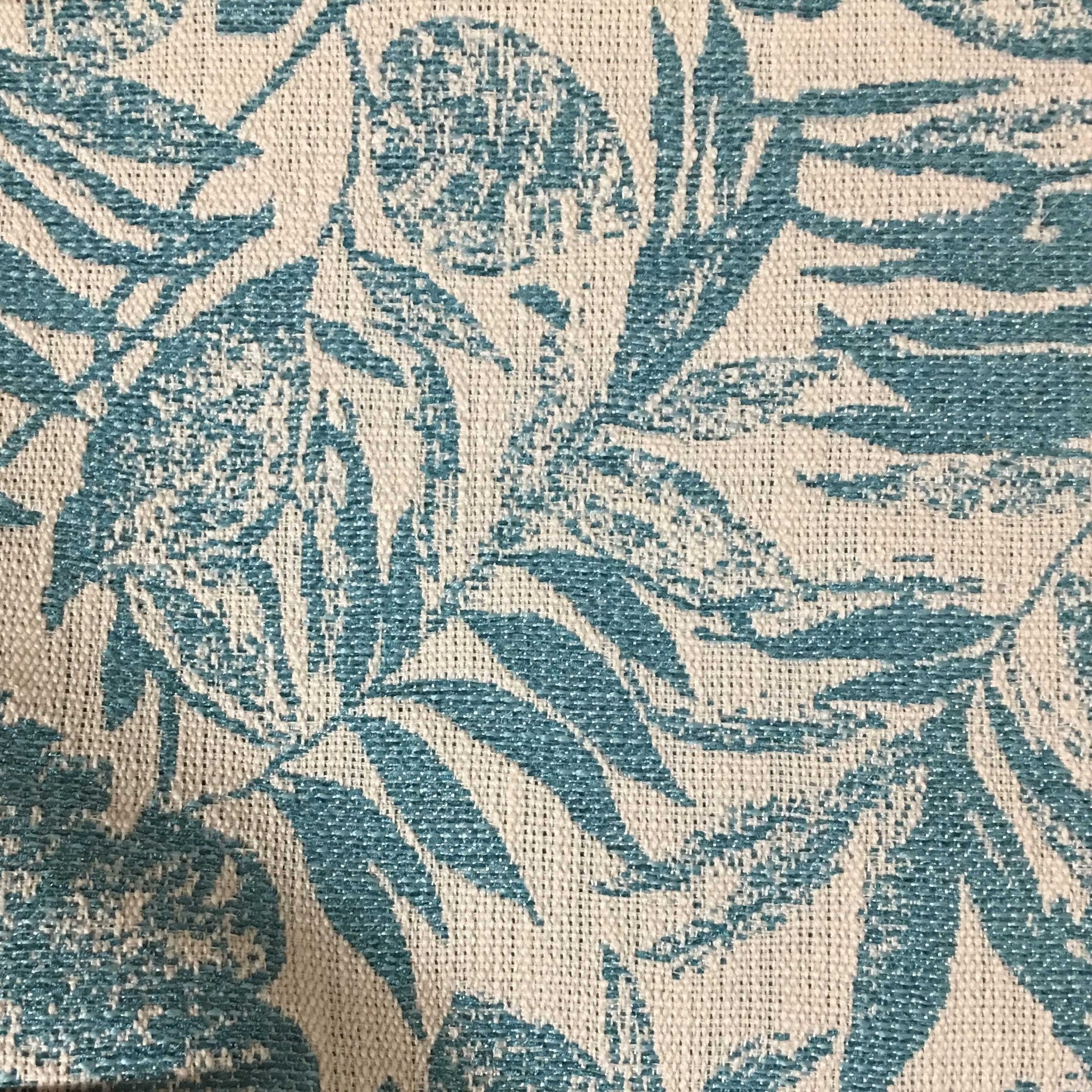 oaks tropical pattern woven texture drapery upholstery fabric by the yard available in - Home Decor Fabrics By The Yard