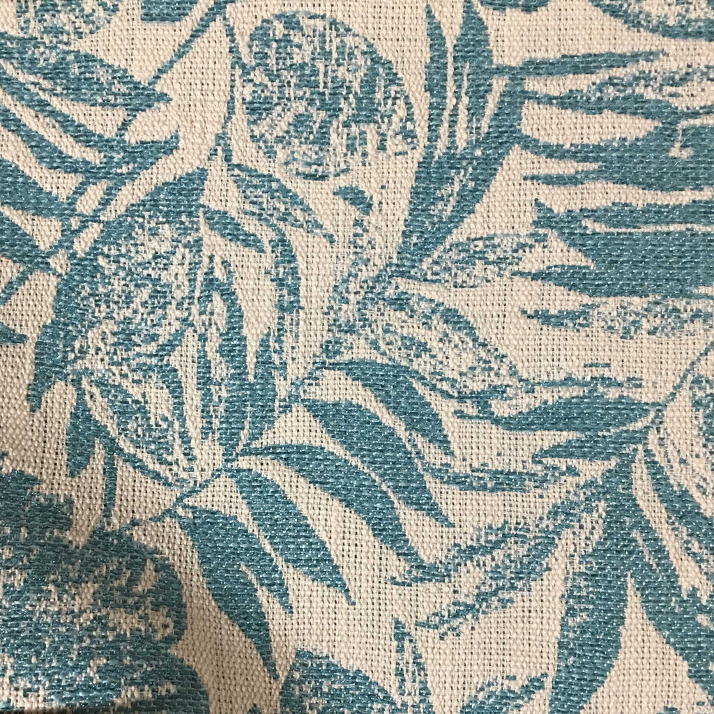 Oaks Tropical Pattern Woven Upholstery Fabric By The