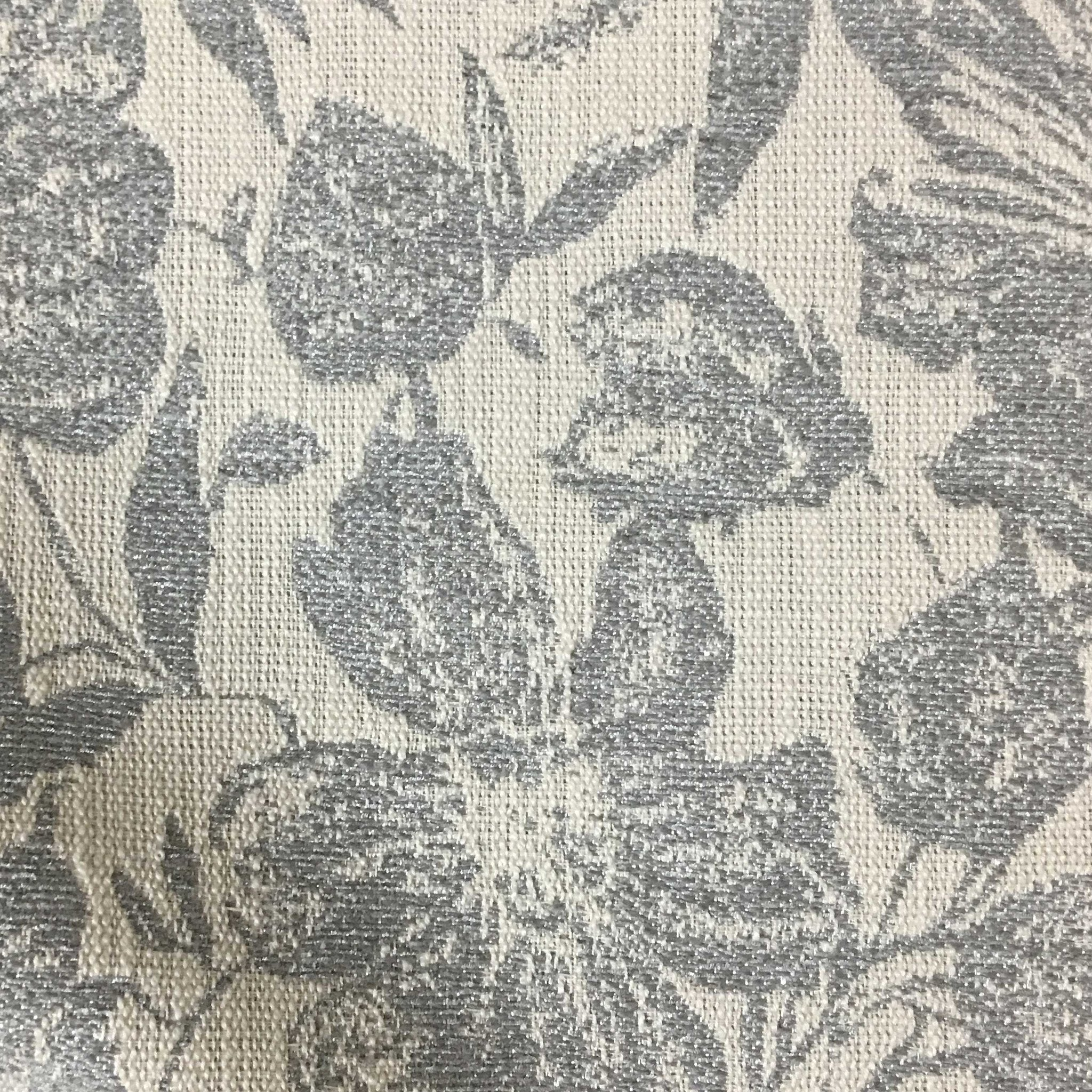 Oaks Tropical Pattern Woven Texture Drapery Upholstery Fabric By The Yard Available In