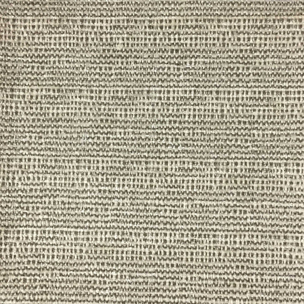 Pimlico - Textured Chenille Upholstery Fabric by the Yard - Available in 20 Colors - Zinc - Top Fabric - 1