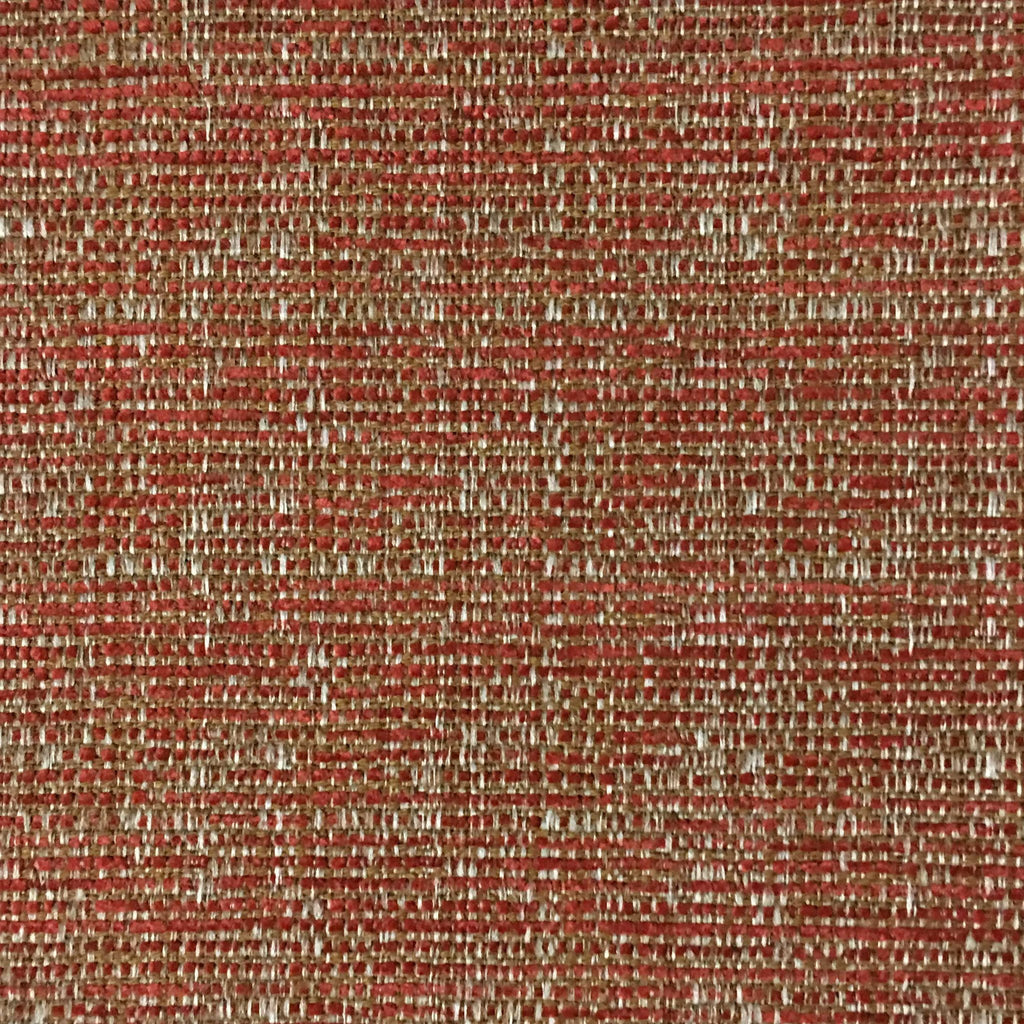 Pimlico - Textured Chenille Upholstery Fabric by the Yard - Available in 20 Colors - Sunset - Top Fabric - 17