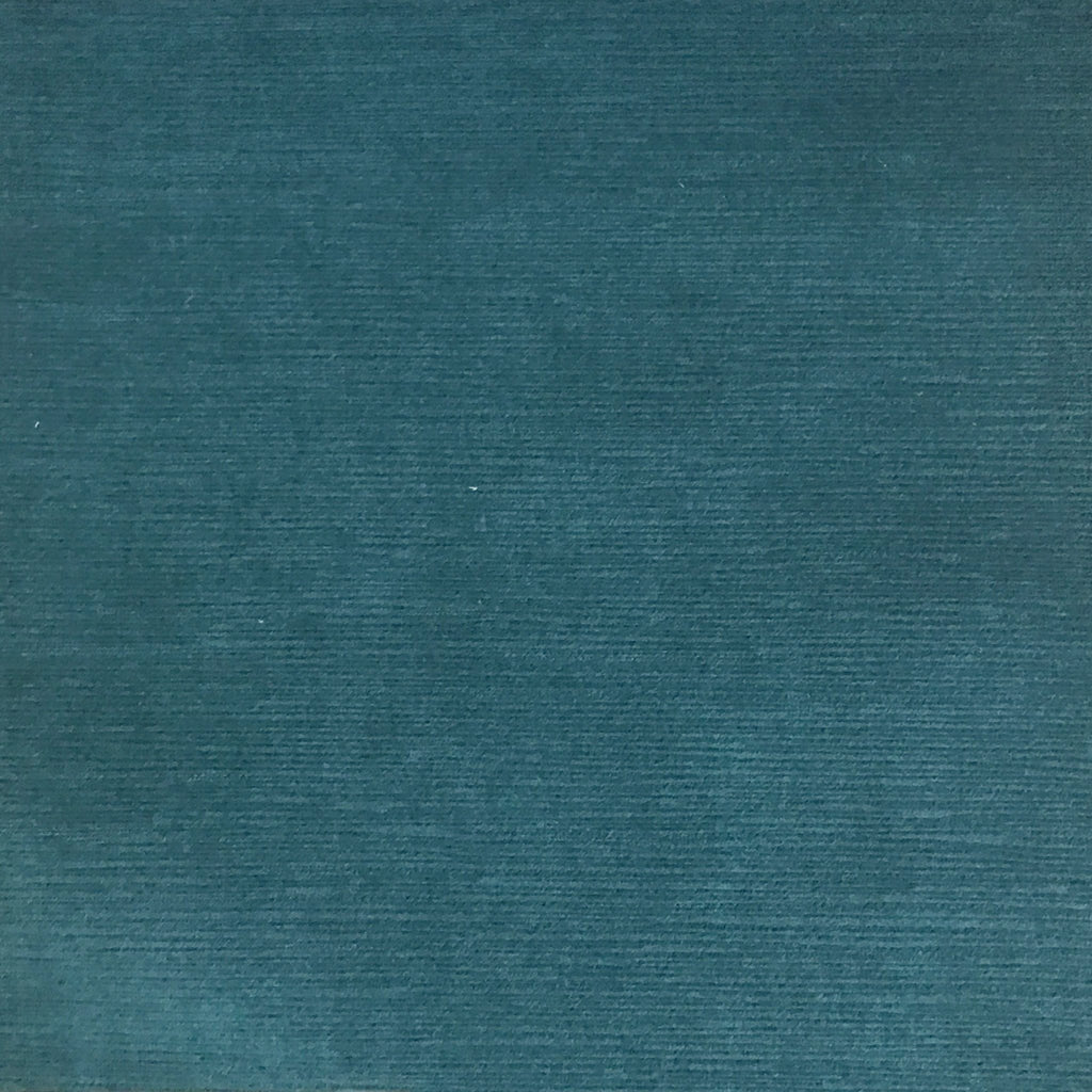 Pond - Strie Textured Microfiber Slubbed Velvet Fabric Upholstery Fabric by the Yard - Available in 40 Colors - Azure - Top Fabric - 11